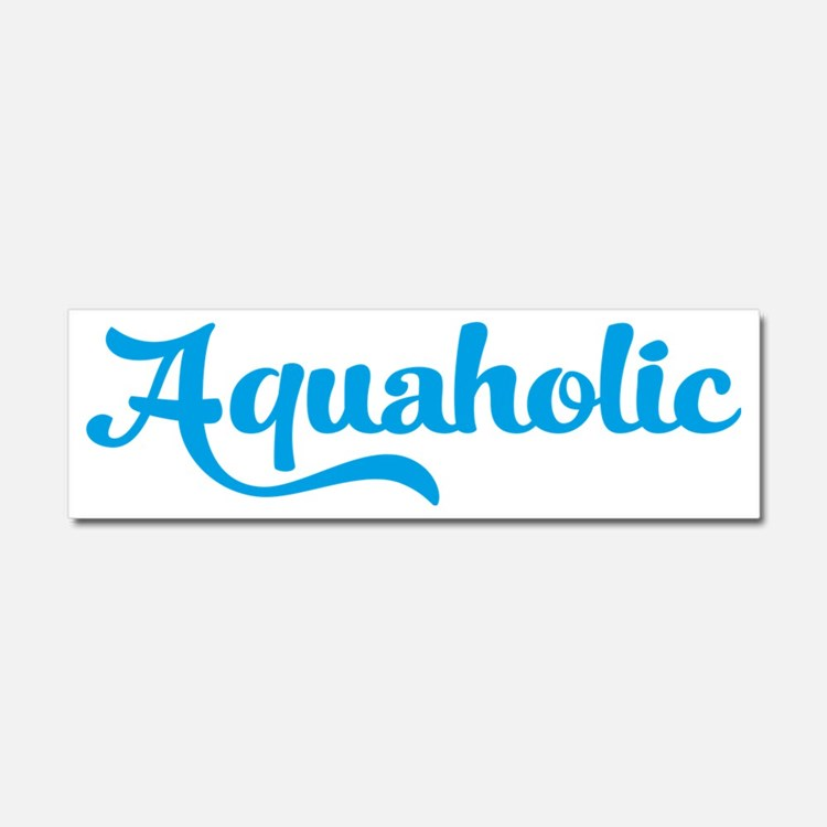 swimming Car Magnet 10 x 3