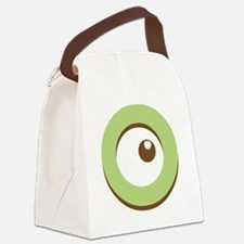 Snuggle Monster Canvas Lunch Bag