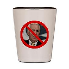 Defeat Corbett! Shot Glass