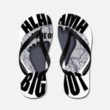 Alabama Home of Bigfoot Flip Flops
