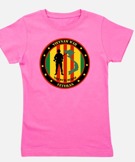 Vietnam War Veteran - This Well Defend  Girl's Tee