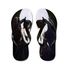 skull illusion coloured gn high res Flip Flops