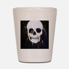 skull illusion coloured gn high res Shot Glass