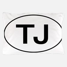 Jeep TJ Wrangler Oval Pillow Case