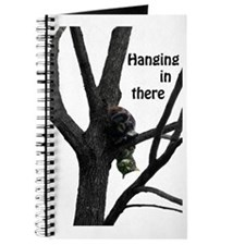 Hanging in There Cat Journal