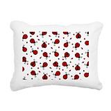 Ladybug Rectangle Canvas Pillows
