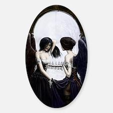 skull illusion Decal