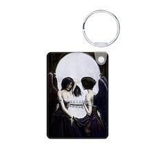 skull illusion Keychains