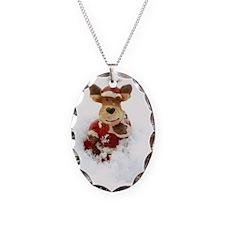 Santa Reindeer Necklace