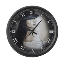 Top Hat clock Large Wall Clock