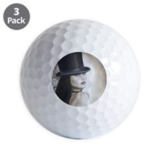 Top Hat for Mousemat Golf Ball