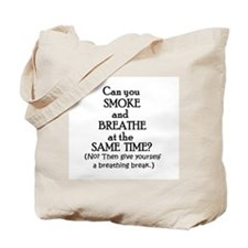GIVE YOURSELF A BREATHING BRE Tote Bag