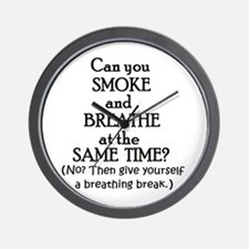 GIVE YOURSELF A BREATHING BRE Wall Clock