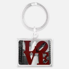 Love @ 1st Sight Landscape Keychain