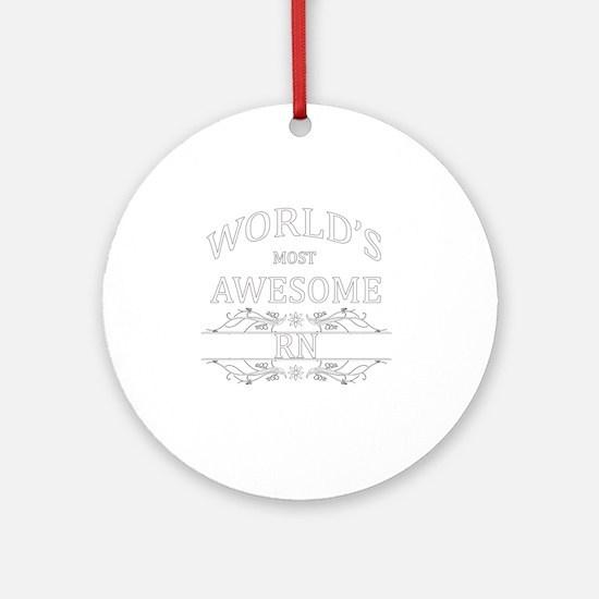rn Round Ornament