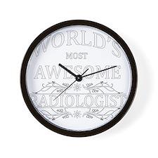 radiologist Wall Clock