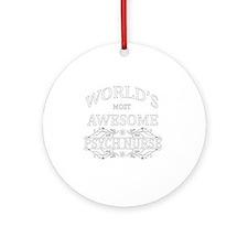 psych nurse Round Ornament
