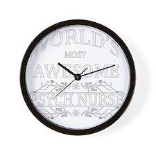 psych nurse Wall Clock
