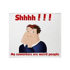 Workpathetic Throw Blanket