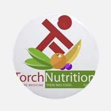 Torch Nutrition Round Ornament