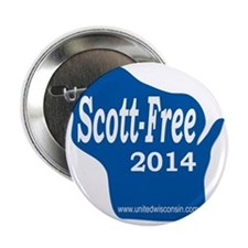 "Scott-Free Wisconsin 2.25"" Button"
