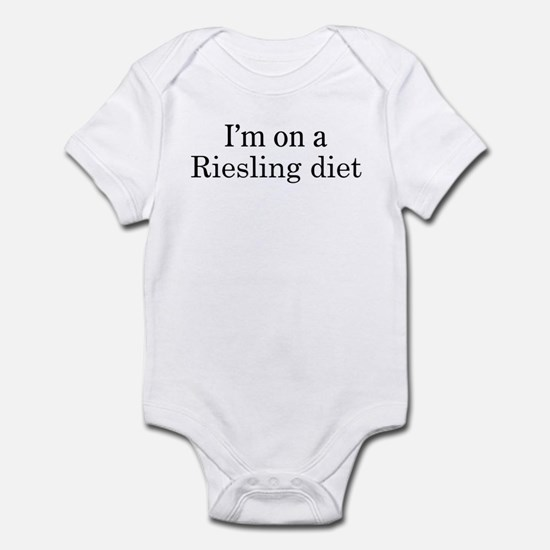 Riesling diet Infant Bodysuit
