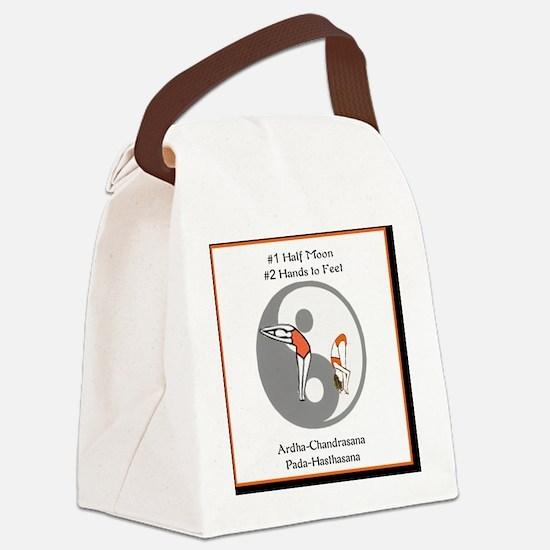 Bikram Yoga #1 Half Moon Canvas Lunch Bag