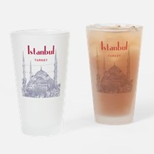 Istanbul_10x10_BlueMosque_Red Drinking Glass