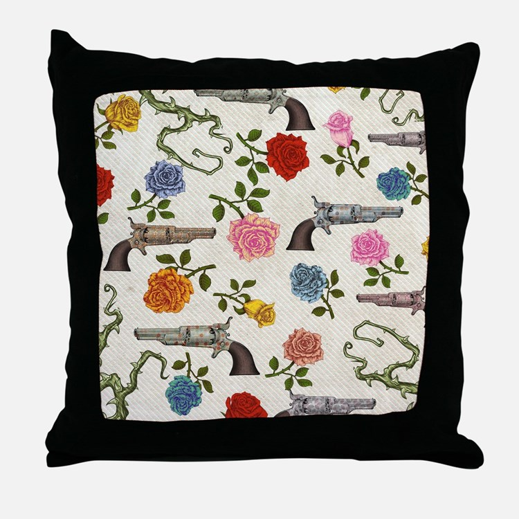 Guns And Roses Pillows, Guns And Roses Throw Pillows & Decorative Couch Pillows