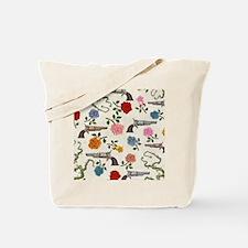 sweet guns and roses Tote Bag