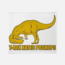 Funny T-rex Throw Blanket