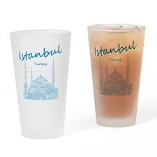 Istanbul_12X12_BlueMosque_Blue Drinking Glass