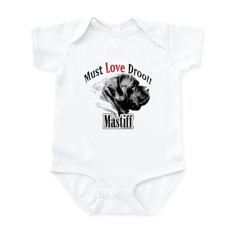 Mastiff Must Love Infant Bodysuit