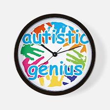 Autistic genius Wall Clock