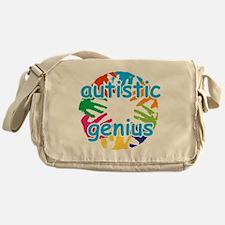 Autistic genius Messenger Bag