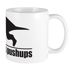 Funny T-rex Hates Pushups Mug