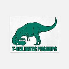 Hilarious T-rex 5'x7'Area Rug