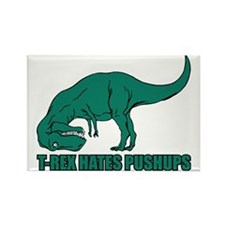 Hilarious T-rex Rectangle Magnet