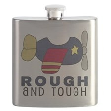 Rough and Tough (3) Airplane Flask