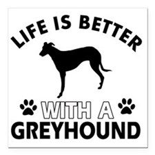 """Life Is Better With A Gr Square Car Magnet 3"""" x 3"""""""