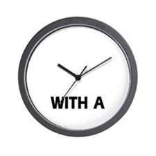 Life Is Better With A Gordon Setter Wall Clock