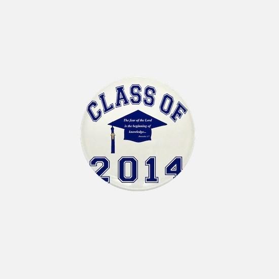 Class Of 2014 Christian Knowledge Mini Button