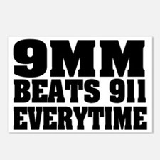 9MM BEATS 911 Postcards (Package of 8)