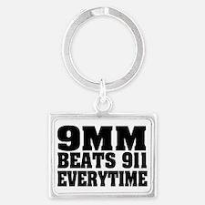 9MM BEATS 911 Landscape Keychain