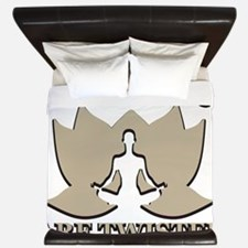 Yoga Girl King Duvet