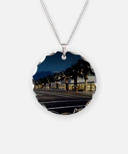 Night Scene, Palm Springs, C Necklace