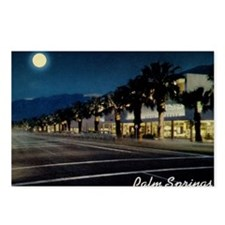 Night Scene, Palm Springs Postcards (Package of 8)