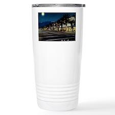 Night Scene, Palm Sprin Travel Coffee Mug