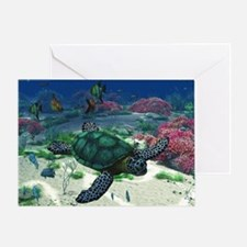 st_small_servering_667_H_F Greeting Card