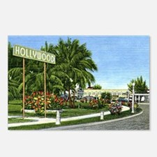 The Circle, Hollywood, Fl Postcards (Package of 8)